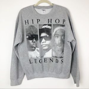HipHop legends pull over sweater